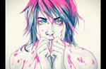 Pink Paint by DocWendigo