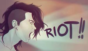 RIOT!! by DocWendigo