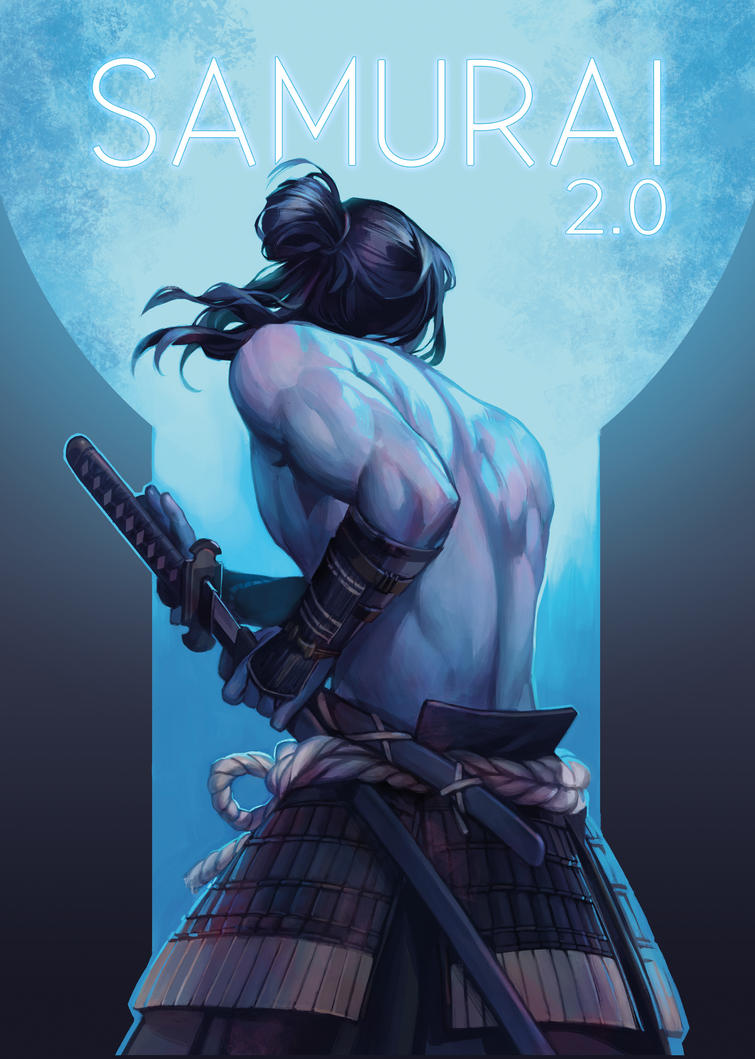 Image result for samurai 2.0 art book
