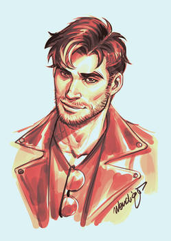 My Dream Daddy Robert by DocWendigo