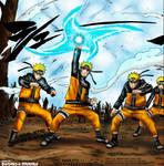 Naruto - Fuuton Rasen Shuriken