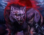 Blood moon [YCH] by Daytonvira
