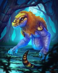 Moon swamp [Commission]