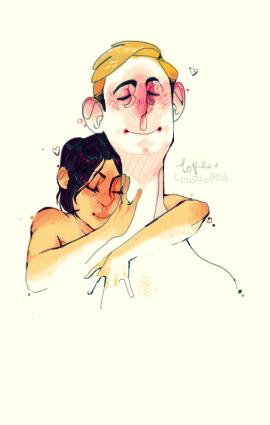 Chelley cuddles by Lescouteaux
