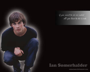 Ian Somerhalder by Mimozami
