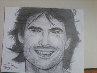Ian Somerhalder portrait by Mimozami