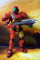 Custom Halo Varia Suit Spartan by MarkieMarky