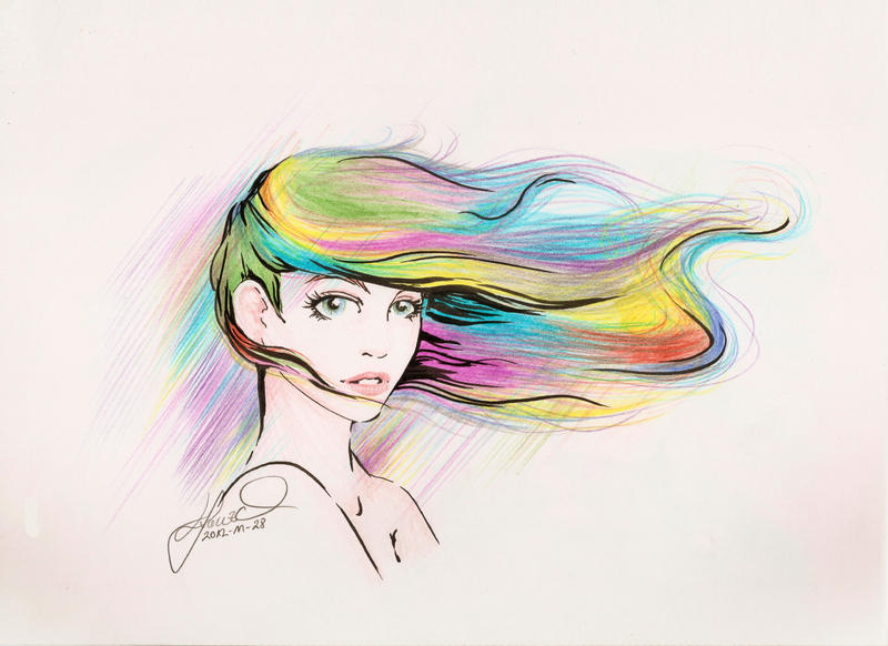Rainbow Hair Design Canby Or