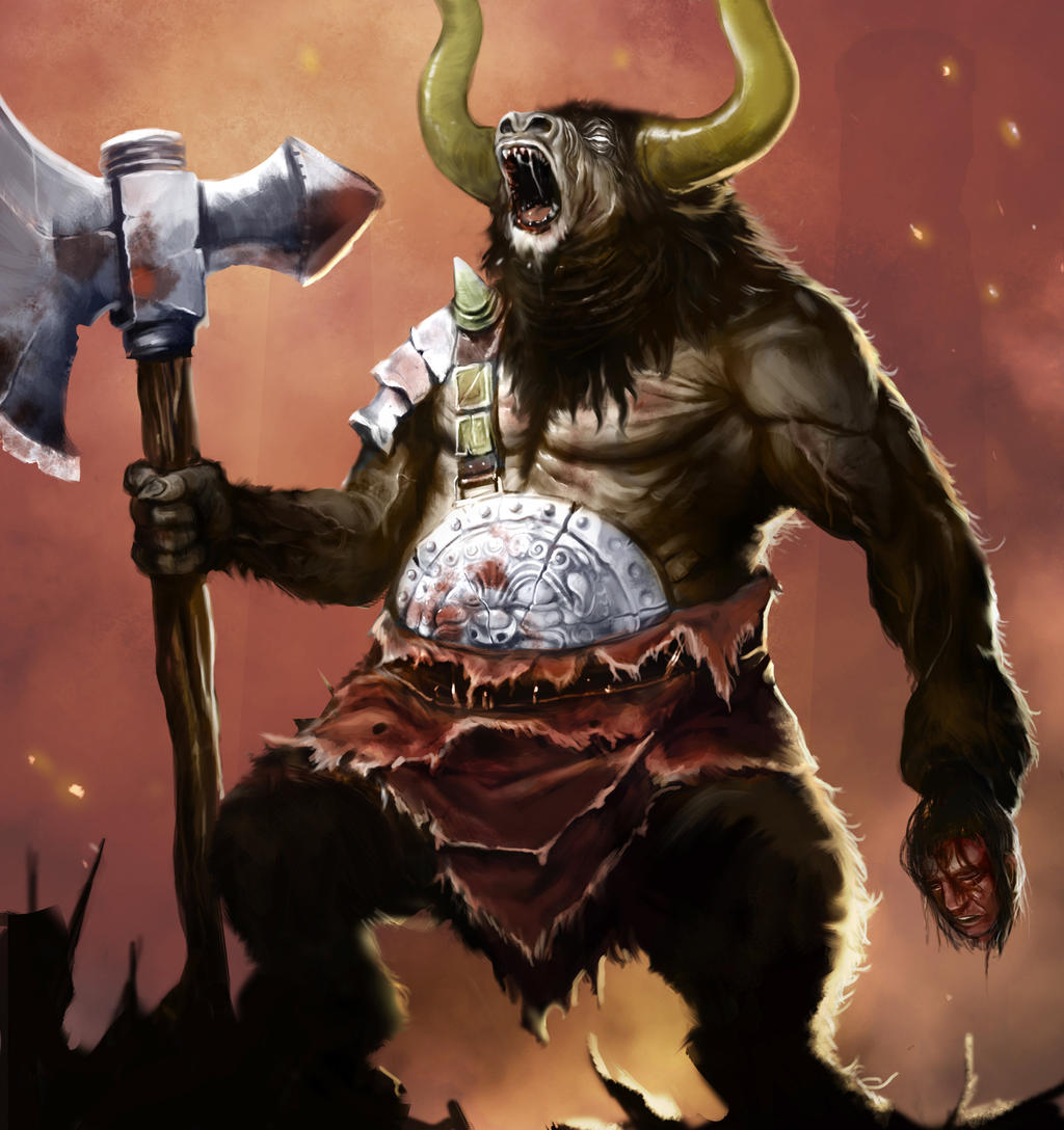 Minotaurs by laclillac
