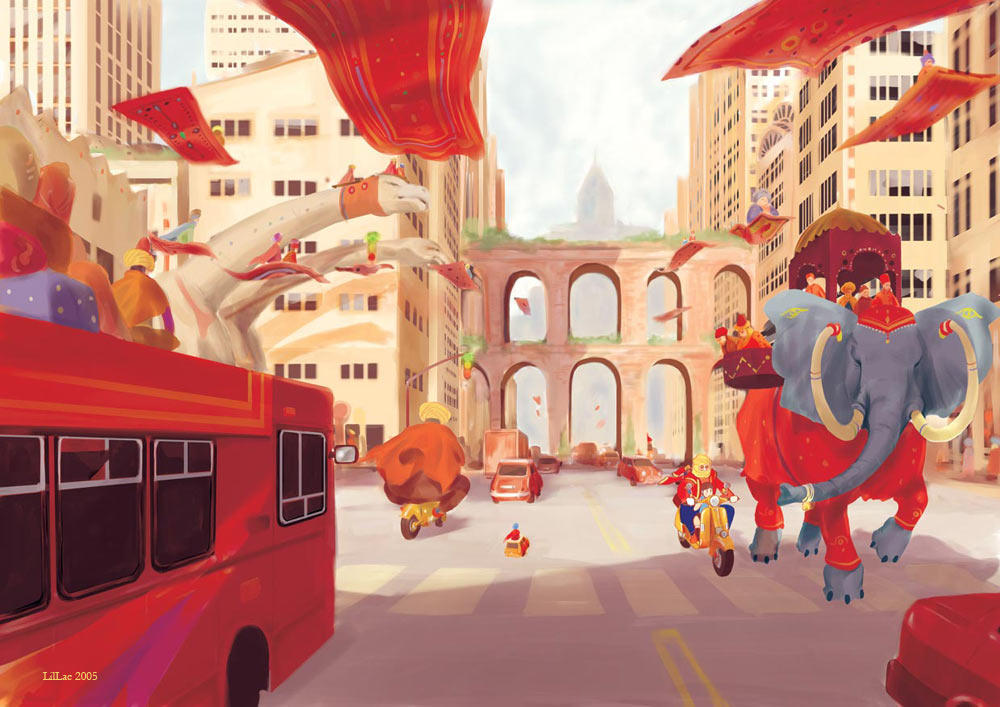 City of the Djinn by laclillac