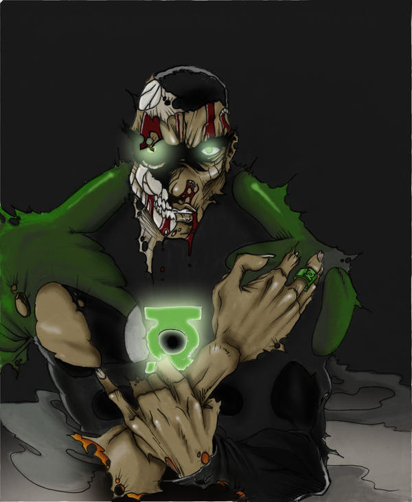 Green Lantern: UNdead Style by Ransak-the-Reject