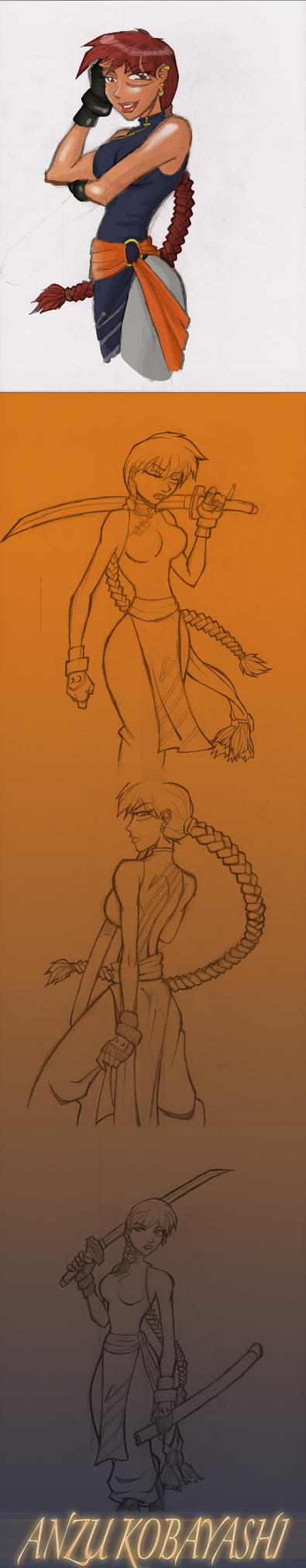 SakuraBowl Anzu by Ransak-the-Reject