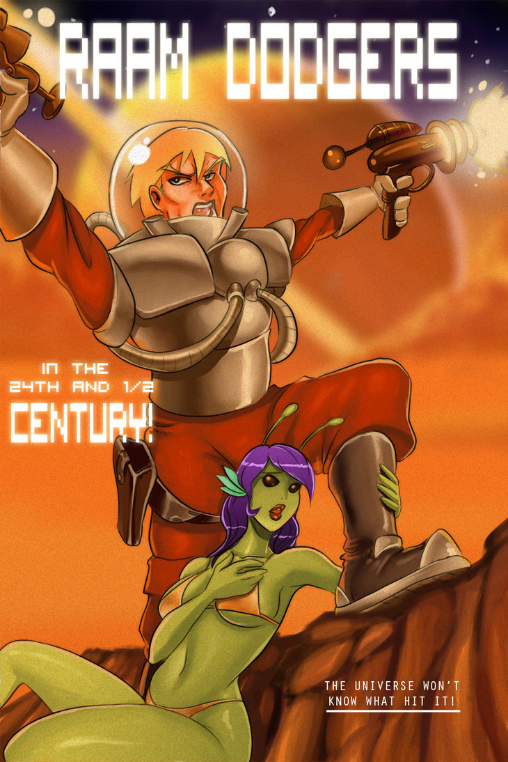 Retro SciFi Art jamz by Ransak-the-Reject