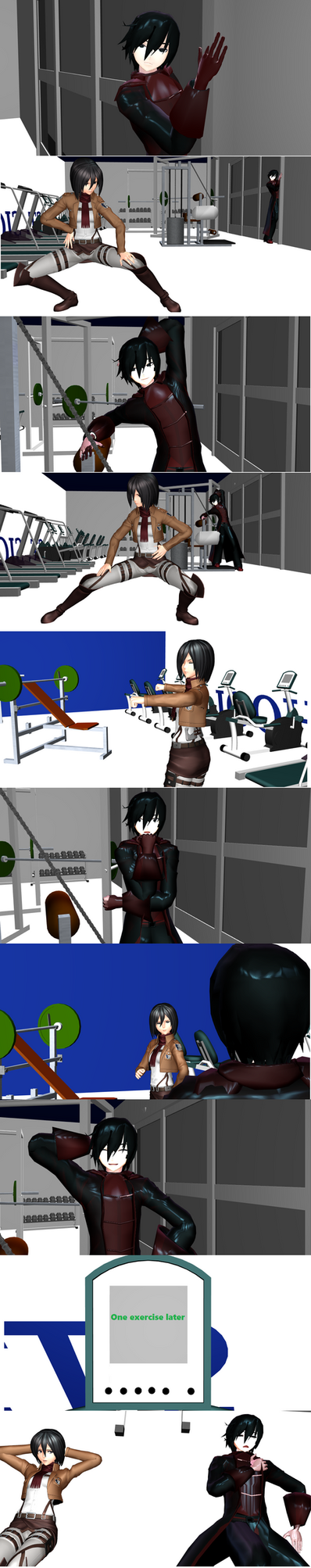 [MMD] Solstice Mikasa thing by MMDabstracts17