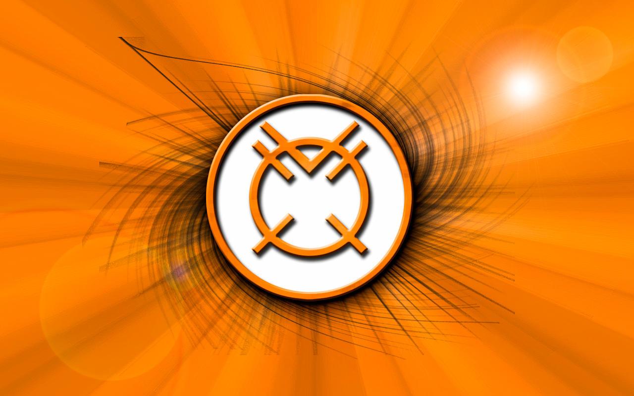 Orange lantern corps wallpaper - photo#17