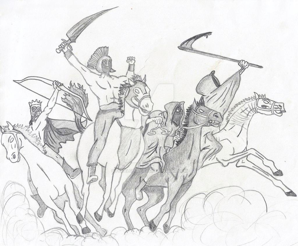 The Four Horsemen by FeralChimera on DeviantArt