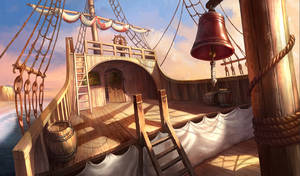 Ship stern, hidden object game/hopa game