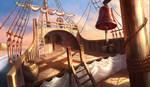 Ship stern, hidden object game/hopa game