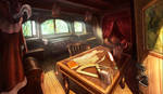 captain's room, hidden object game/hopa game