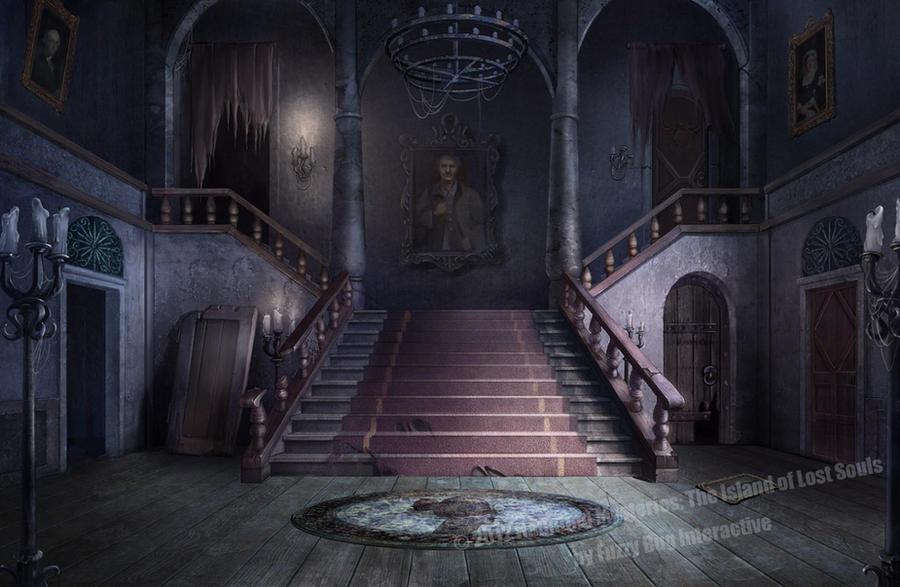 Blender Haunted House Room