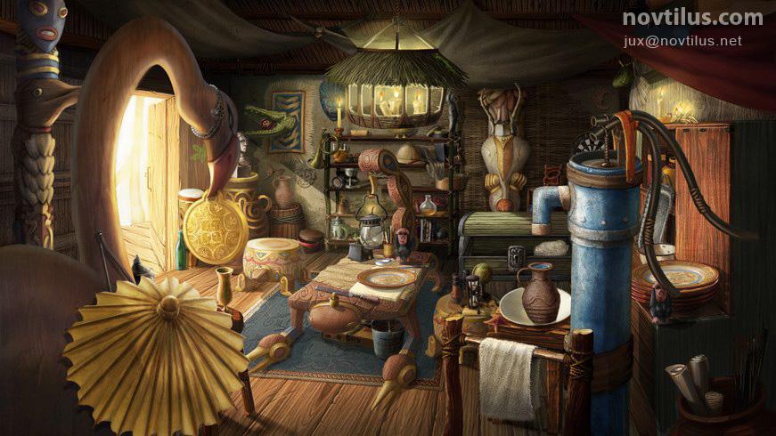 Hidden Object scene 05 by novtilus