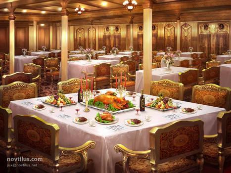 1st Class Dining Saloon