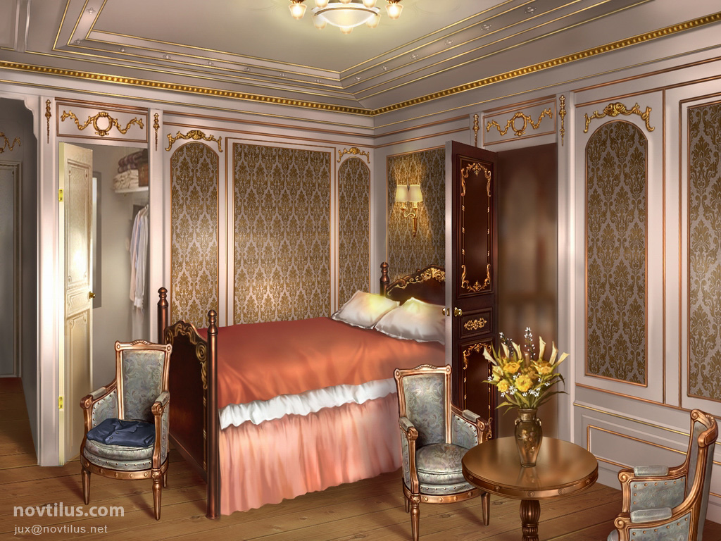 1st class stateroom of titanic by novtilus on deviantart Who was on the titanic in first class