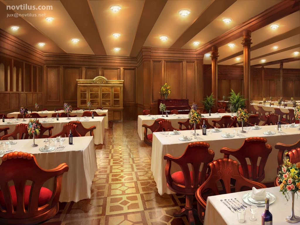 Superb 2nd Class Dining Saloon Of Titanic By Novtilus ... Part 27