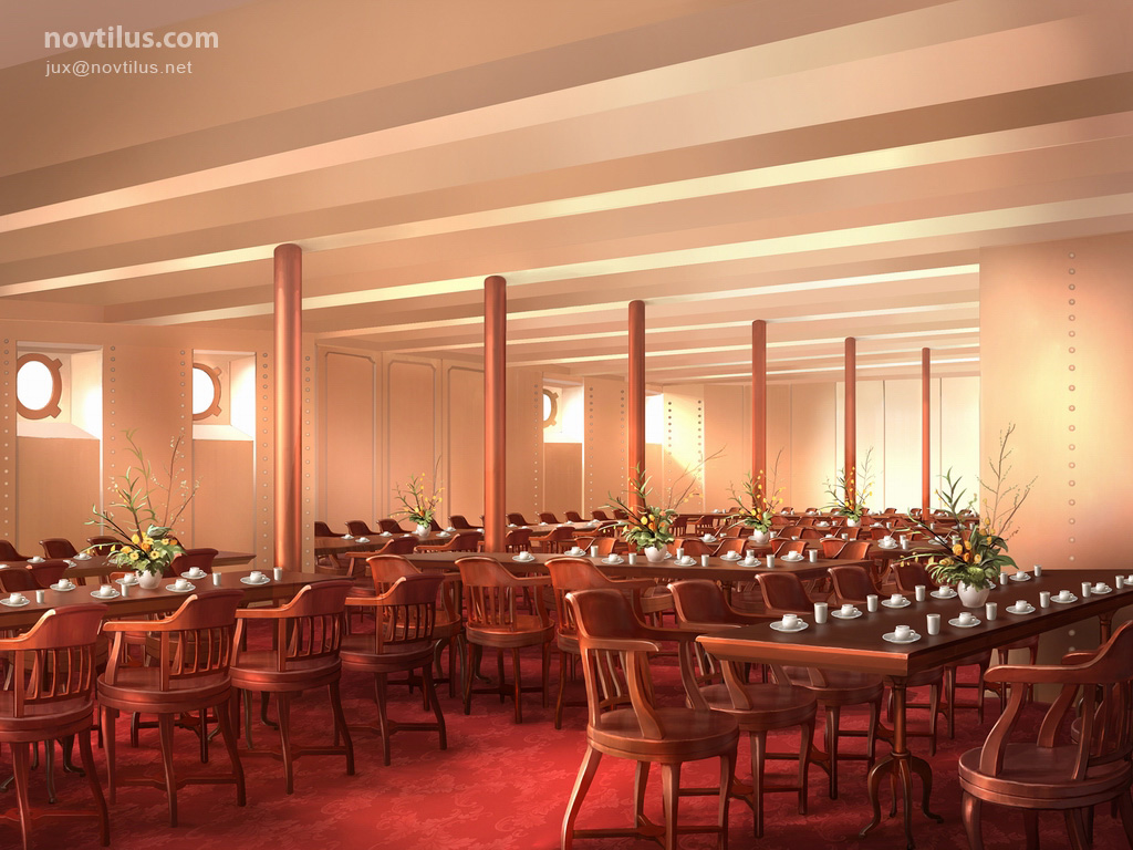 Perfect 3rd Class Dining Saloon Of Titanic By Novtilus ... Part 30