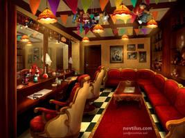Barber Shop of Titanic by novtilus