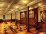 Gymnasium of Titanic