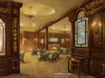 1st Class Smoking Saloon of Titanic