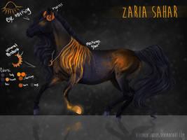 Zaria Sahar by HevonenStudios