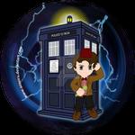 11th Doctor Button Design