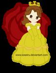 Princess Belle Chibi