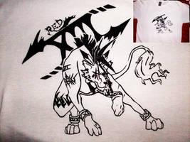 Red XIII SHIRT PRINT by fullmetal-moonshadow