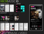 Xbox Music / Zune integrtion for WP8 Concept by TheTechnikStudios