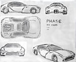 PHASE X10 Coupe Sketch by TheTechnikStudios
