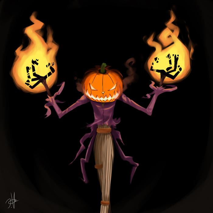 The Pumpkin King by chikinrise on DeviantArt