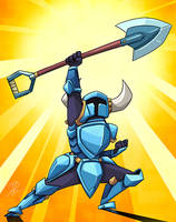 Shovel for the win! by chikinrise