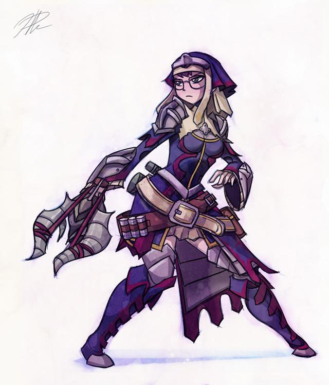 Giginox X armor by chikinrise