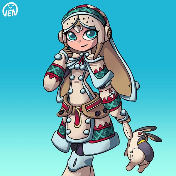Lagombi hunter by chikinrise