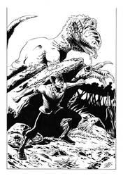 Xenozoic: Jack Tenrec by Antonio-Rocha