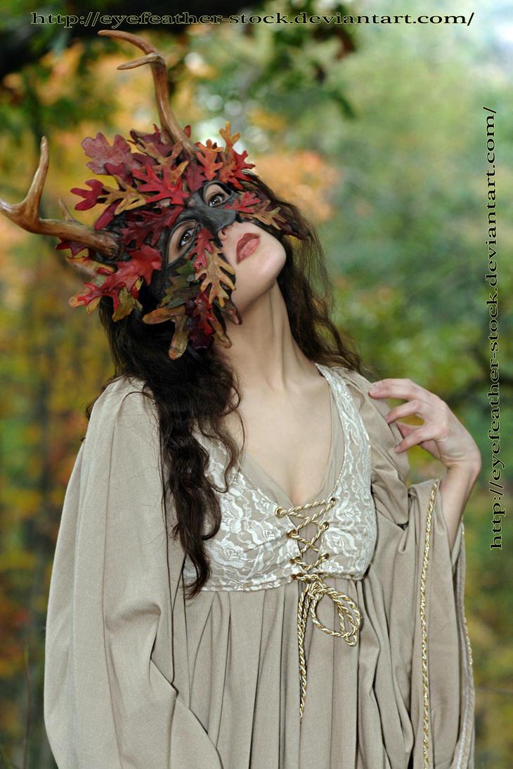 Oak Mask by eyefeather-stock