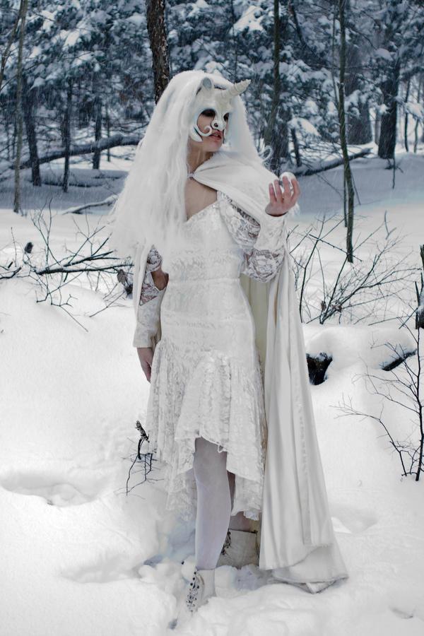 Unicorn Mask Snow 6 by eyefeather-stock