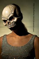 skull 3 4 by eyefeather-stock