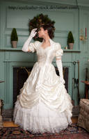 profile wedding gown by eyefeather-stock