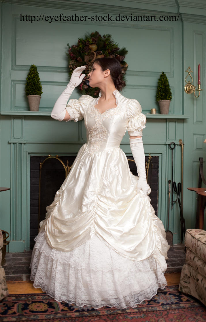 Profile Wedding Gown By Eyefeather Stock On Deviantart