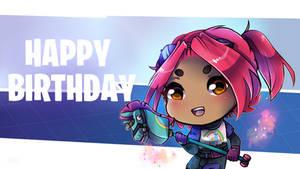 Fortnite - Happy Birthday Card