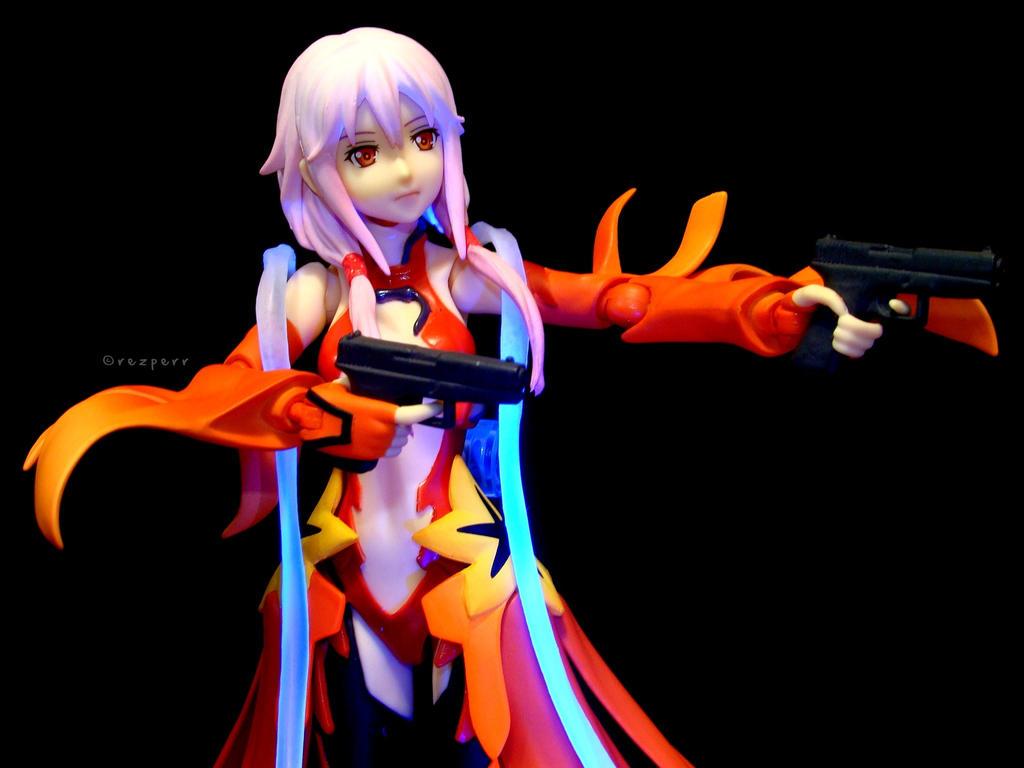 Inori Yuzuriha: Guns by Resh44